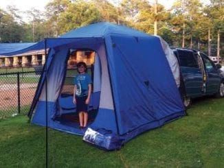 Product Review: Napier SUV/Minivan Sportz SUV Tent 82000 | Birminghamparent.com