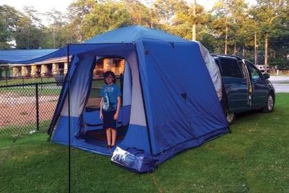 Product Review: Napier SUV/Minivan Sportz SUV Tent 82000   Birminghamparent.com