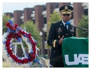 UAB to Host Veteran's Day Celebrations and Ceremonies on Friday