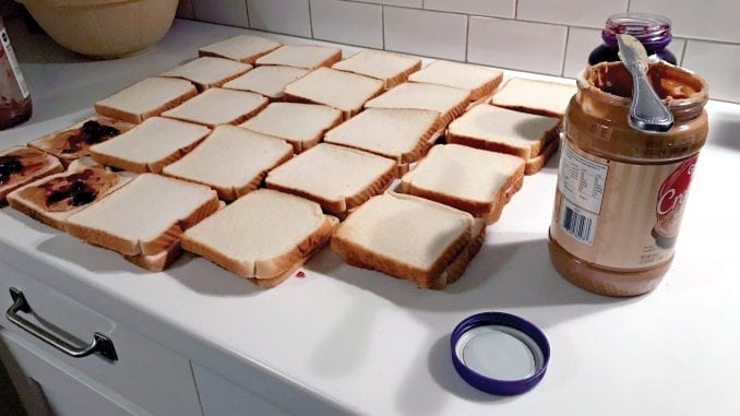PB&J Sandwiches
