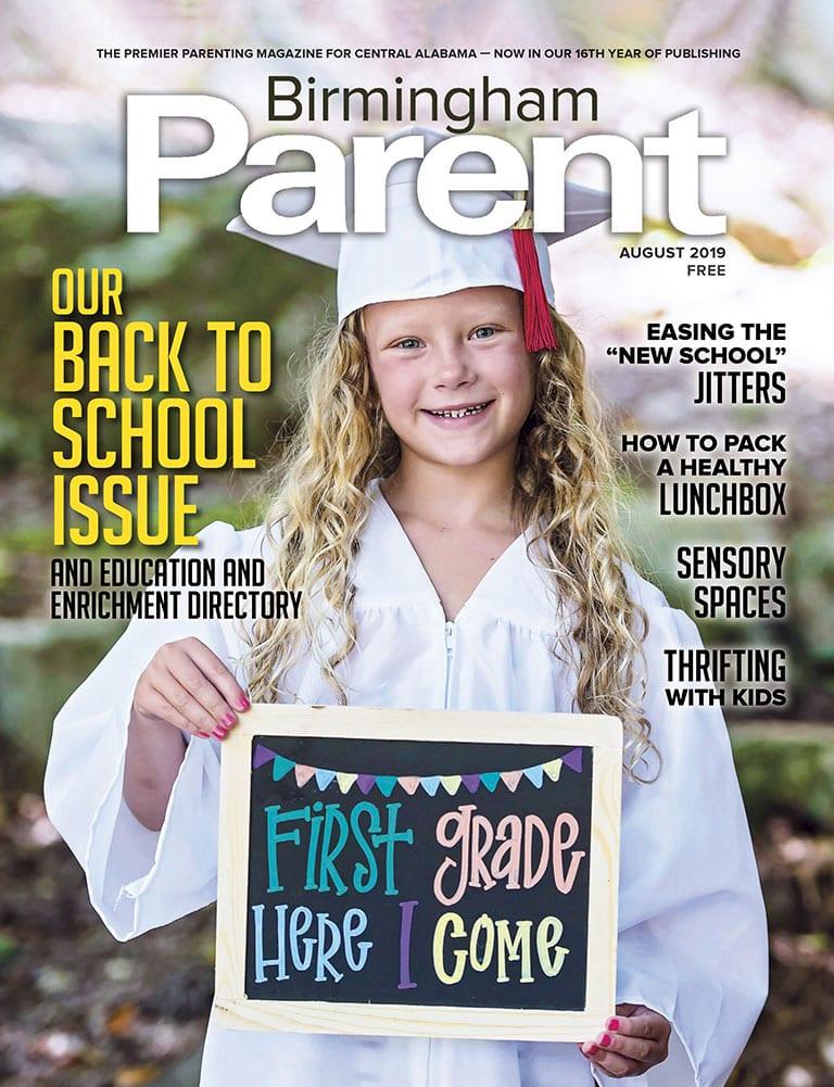 August 2019 Issue of Birmingham Parent Magazine
