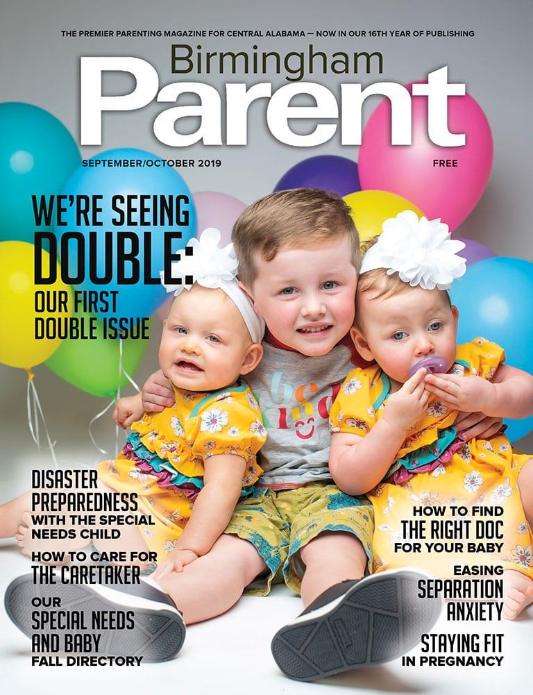 September/October 2019 Issue of Birmingham Parent Magazine