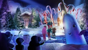 Gaylord Hotels new one-of-a-kind marquee Christmas pop-up experience