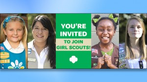 You're Invited to Join the Girl Scouts!