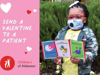 Send Valentines to Patients at Children's of Alabama