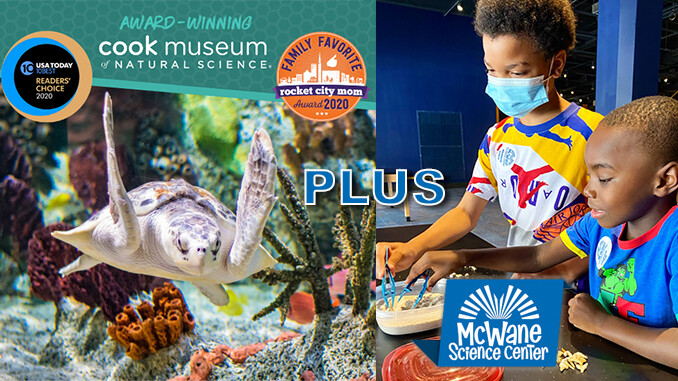 4 Tickets to TWO Museums! A $160 Value