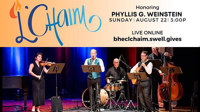 10th Annual BHEC L'Chaim Online Fundraiser