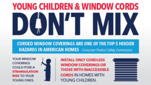 October is National Window Covering Safety Month